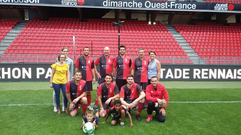 OJCP Partenaire Officiel Du Stade Rennais