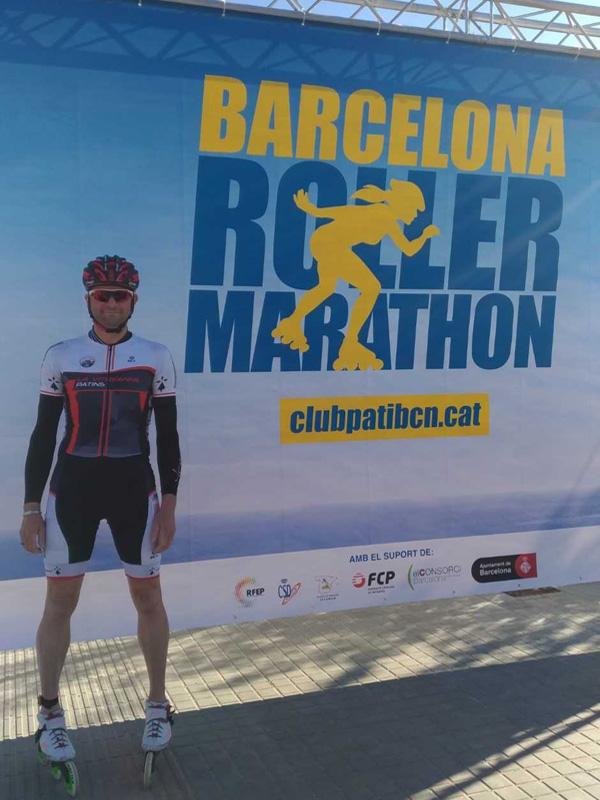 OJCP Partenaire De Richard HUET Vitréenne Patins Au Marathon De Barcelone